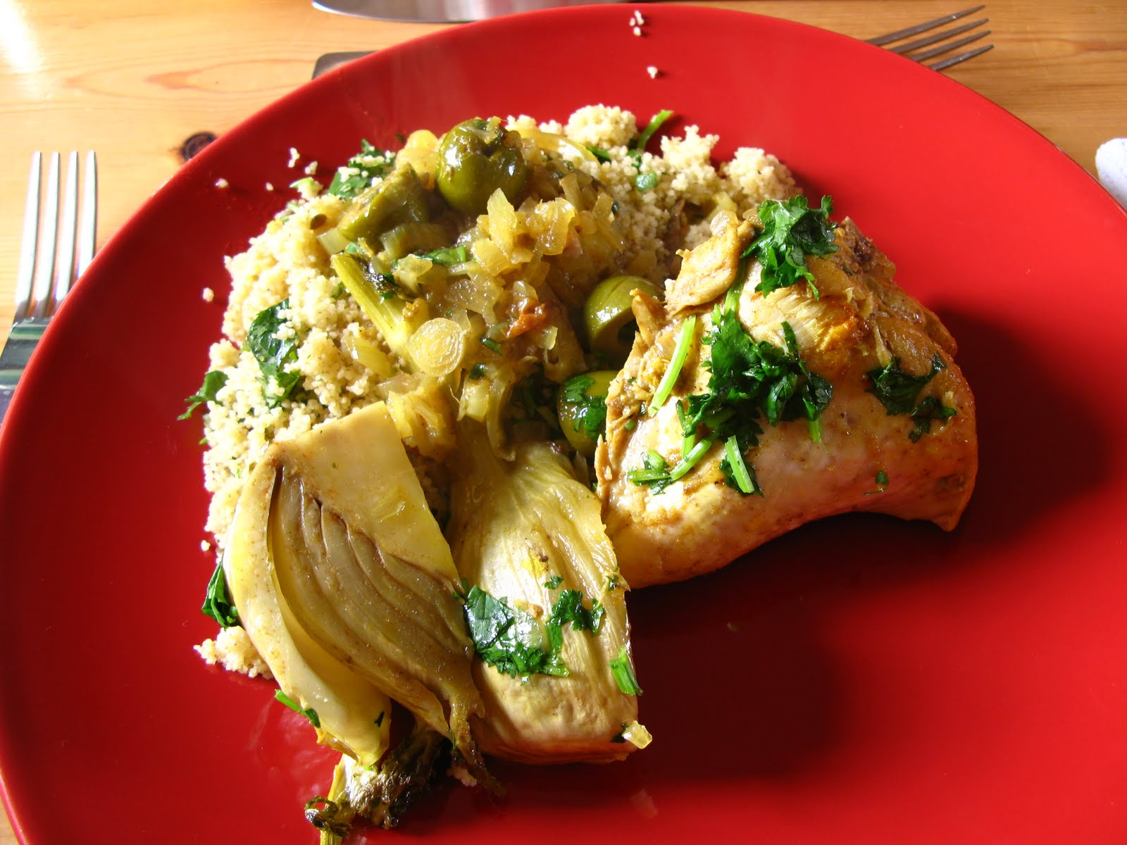 Chicken and fennel tagine toast butter forumfinder Image collections